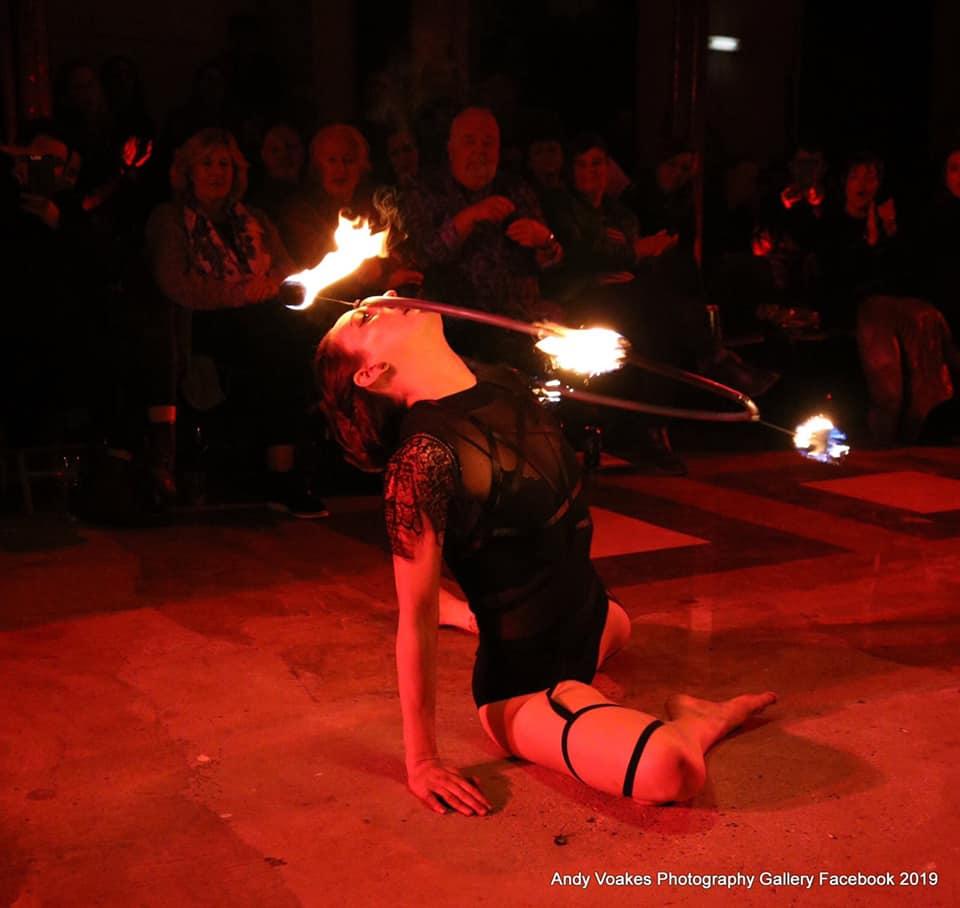 laura fire hoop